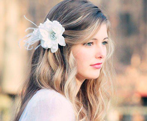 Penteados para noivas 2014 - Cabelos soltos