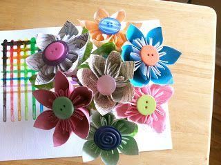 Paper flower pens my creations pinterest flower pens flower paper flower pens mightylinksfo