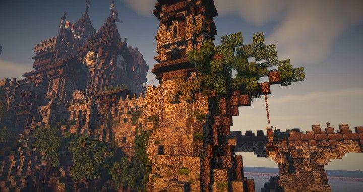 Mediterranean Castle Badbuilder And Ironfarmer Minecraft Project