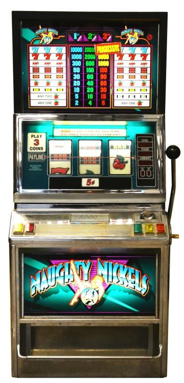 Lot 1209A: Bailey Naughty Nickels Slot Machine July 2, 2015