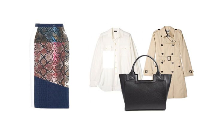 Carmen Borgonovo, Fashion Director of My-Wardrobe.com, on the Only 3 Outfits You Need in Your Wardrobe This Spring