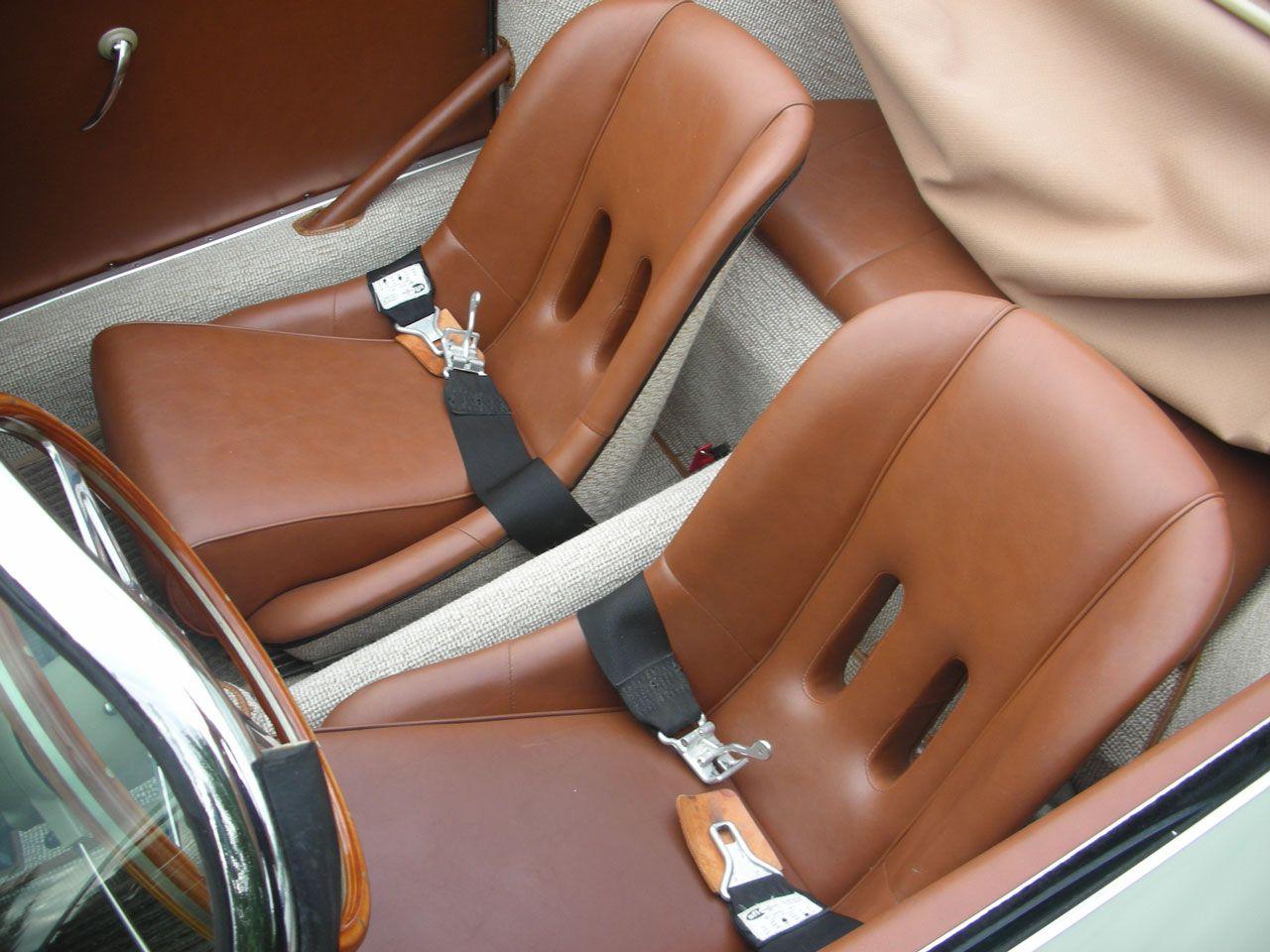 Leather Seats German Square Weave Carpet Porsche 356 A