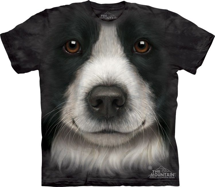 Themountain Com Border Collie Face T Shirt 20 00 Http Shop