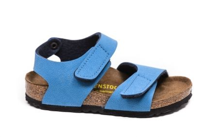 Sandaly Obuwie Dziecko Birkenstock Birkenstock 237763 Palu Bf Nubuk Deep Water Blue Buty Buty Damskie Buty Meskie Dzieciece O Birkenstock Shoes Palu