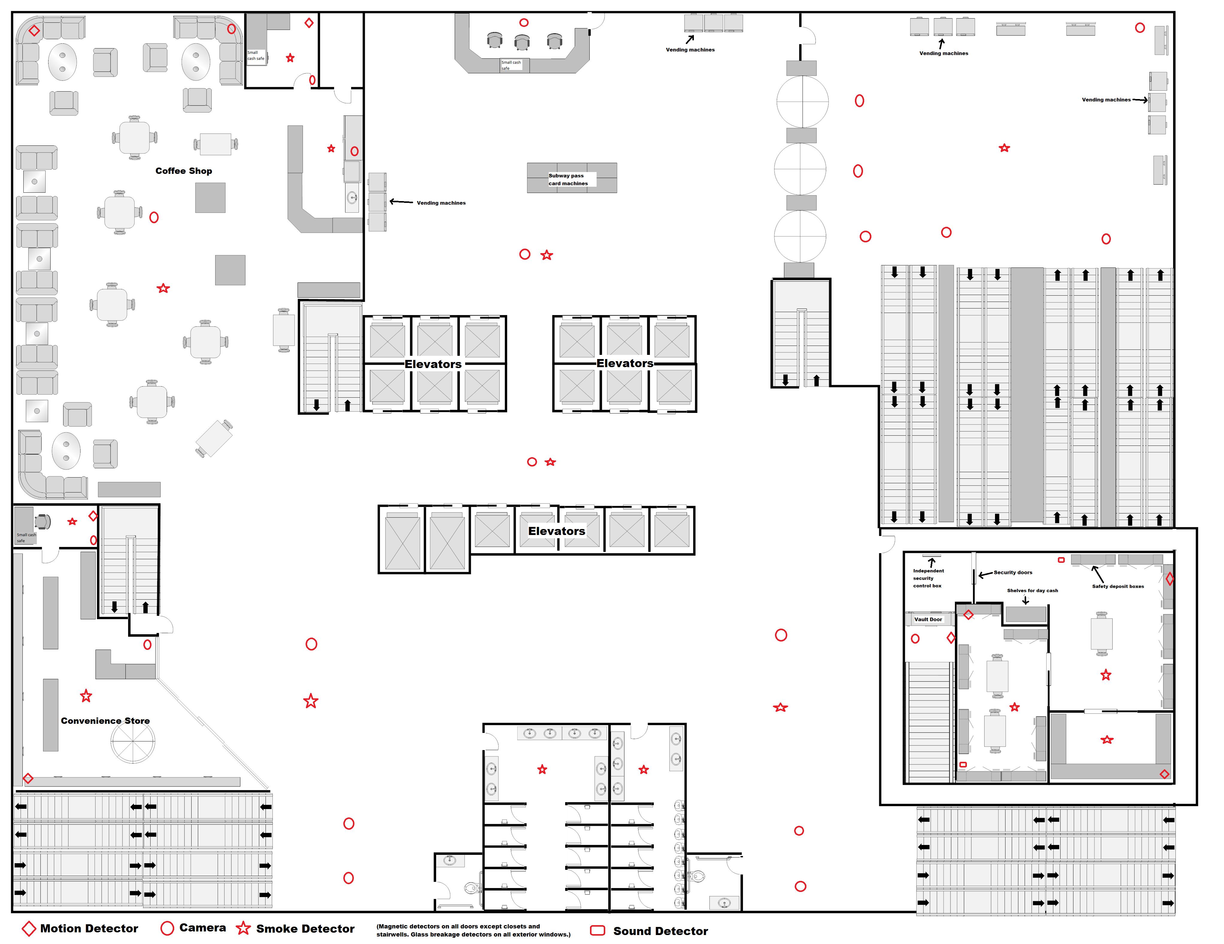 Image result for a safe deposit box bank room floor plan floor plans flooring