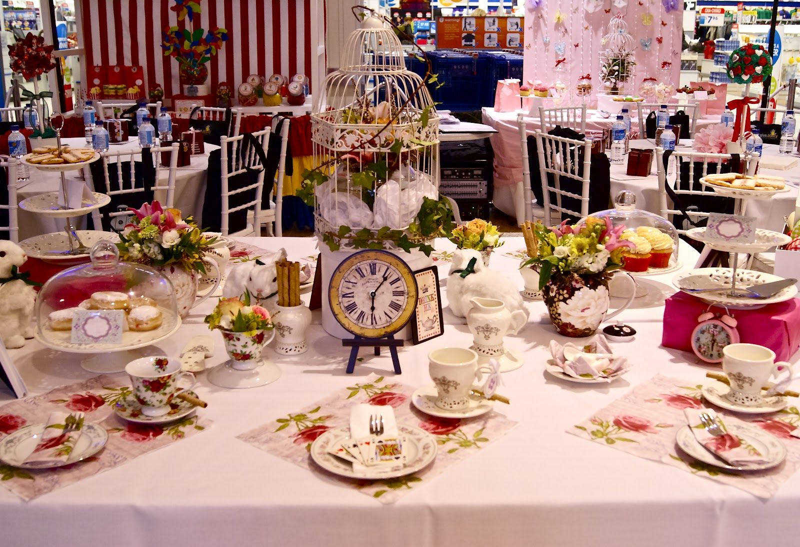 Alice in Wonderland Tea Party Clip Art | ... Party Styling ...