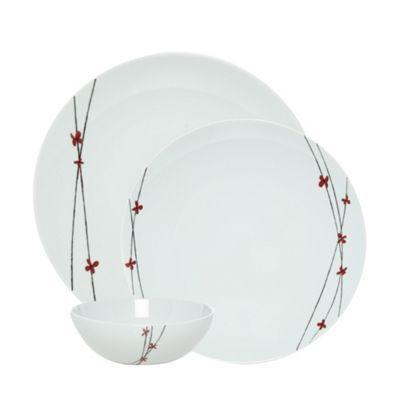 John Rocha Designer white porcelain u0027Islau0027 12 piece tableware set- at  sc 1 st  Pinterest & RJR.John Rocha Designer white porcelain u0027Islau0027 12 piece tableware ...