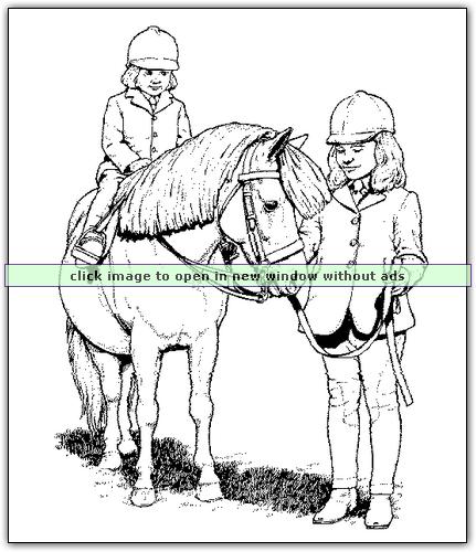 Horse coloring pages at coloringbookfun.com - print and enjoy ...