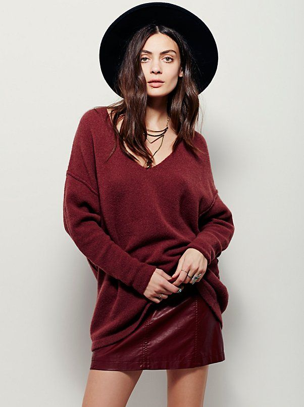 Softly Vee Sweater | Super soft and comfy this must-have sweater is a staple for the season.
