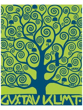 Gustav Klimt, arbre de vie
