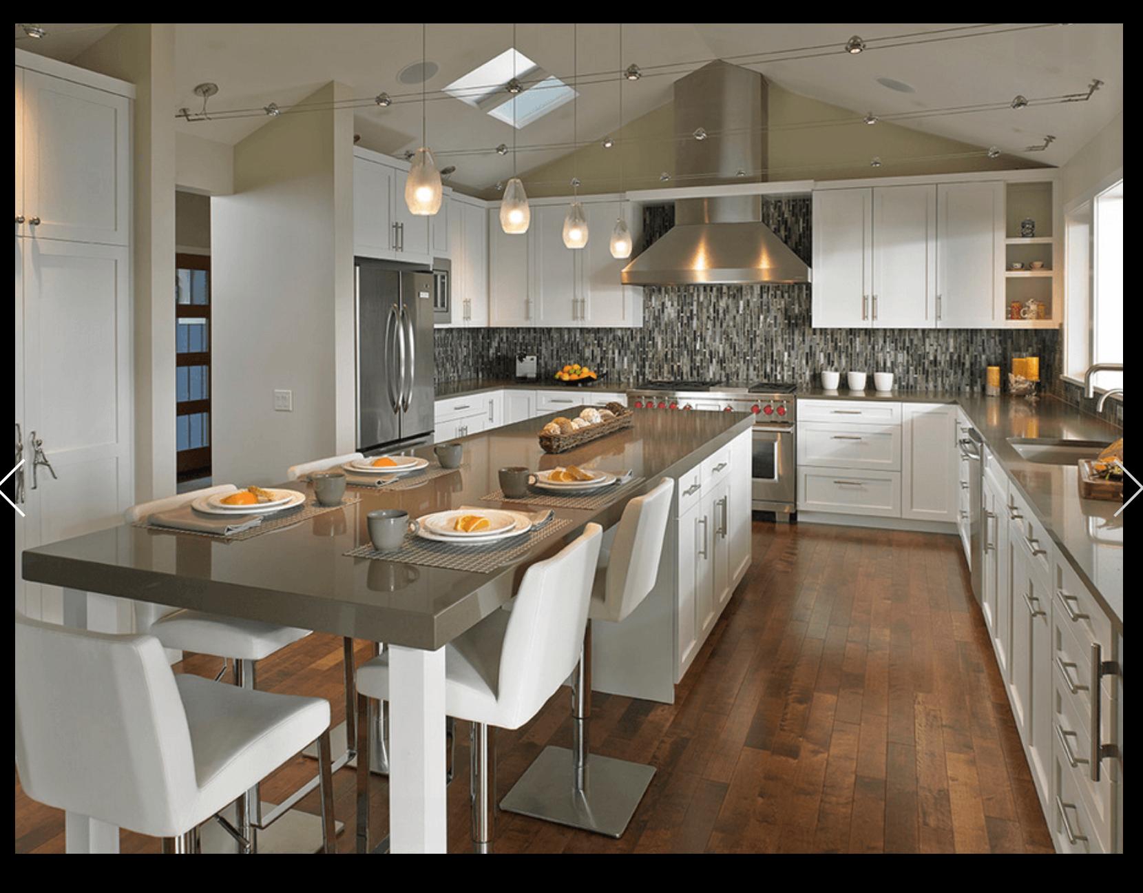 Isla Mesa Decoracion De Cocina Decoracion De Cocina Moderna Cocinas De Casa