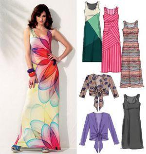 Kleid mit bolero nahen