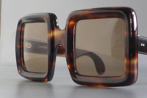 Lanvin by Philippe Chevallier Unique Vintage 70 s Lady Sunglasses.  Facesunglasses 39b4bf1bbfde