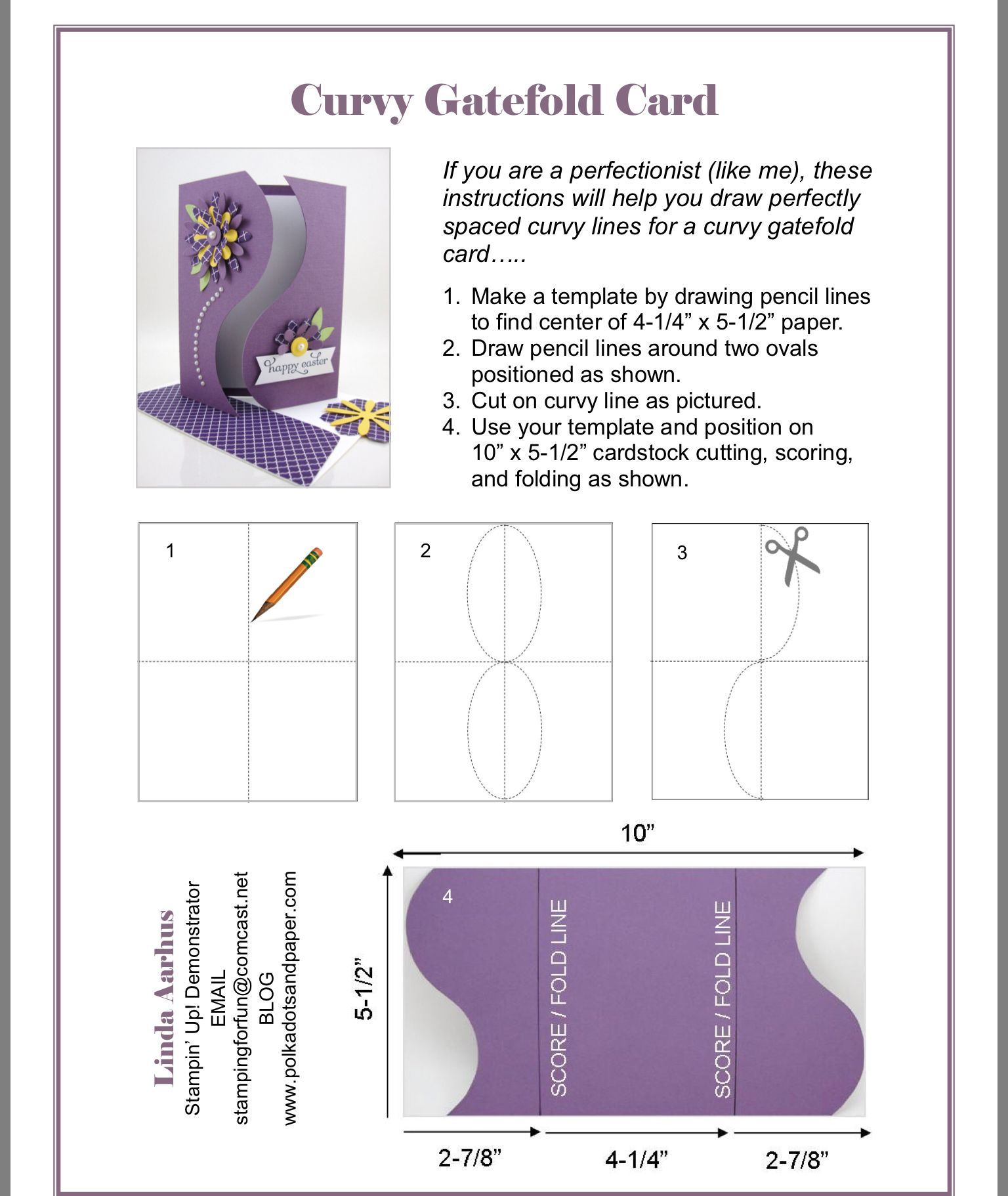Pin by MJ Gomez on Ideas   Gatefold cards, Card making ...