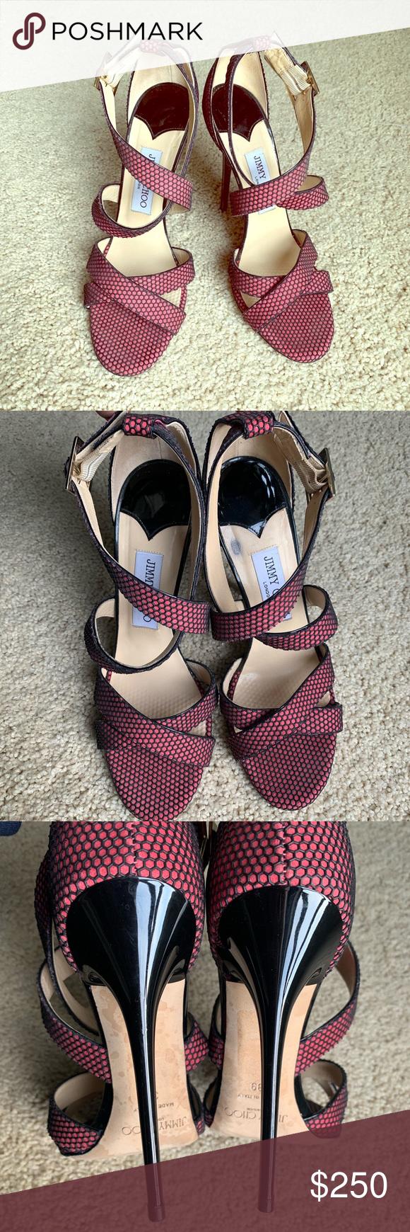 9851e72158e4 Jimmy Choo Lottie Sandals Size 39 Jimmy Choo Lottie Sandals. Size 39. Worn  two times. In excellent condition. Jimmy Choo Shoes Sandals