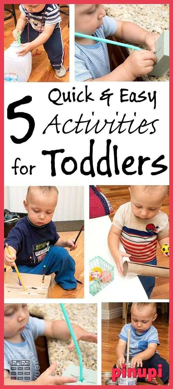 5 Quick And Easy Activities For Toddlers 5 Quick And Easy Activities For Toddlers Inexpensive Fun Activities For Toddlers Using Recycled Material 5 Quick And Easy Activities For Toddlers Low Cost Little Setup Time Lots Of Fine Motor Control Fun For 1 Year Olds