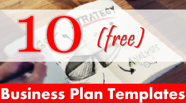 Top  Business Plan Templates You Can Download Free  Business