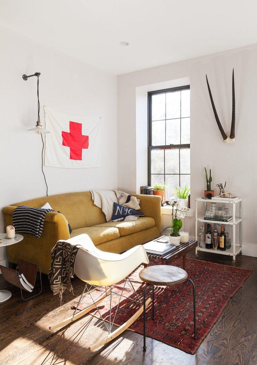 An IndustrialModern Apartment in Brooklyn Modern