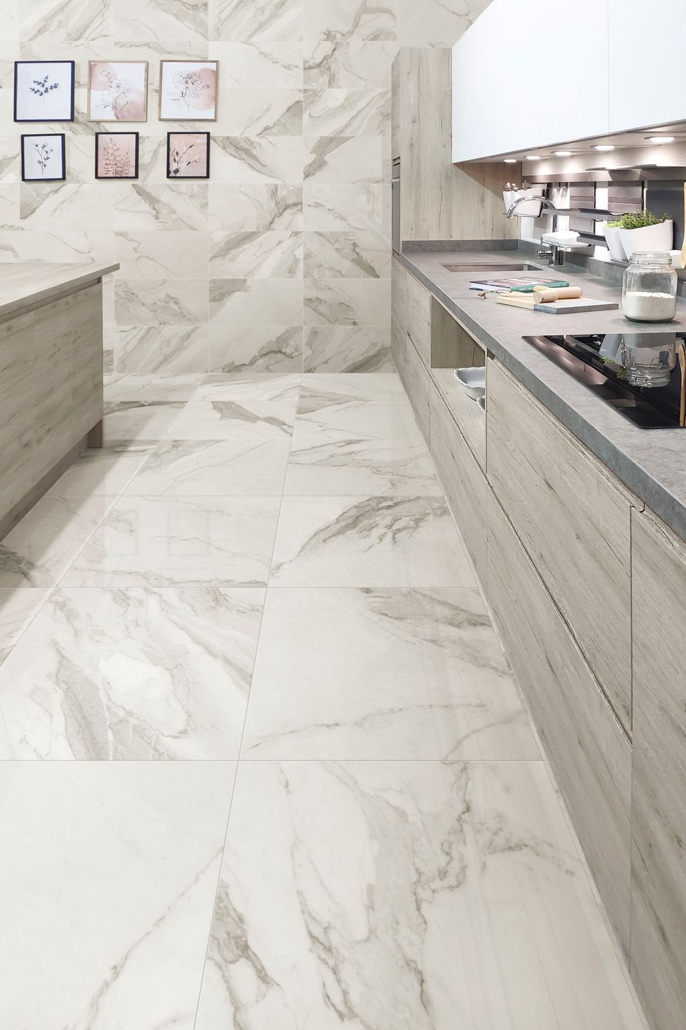 Marble Effect Kitchen Tiles Marble Floor Kitchen Marble Tile Kitchen Wall Tiles Living Room