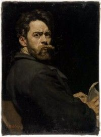 Today's Featured Artist at the e.Gallery is a 19th Century artist of the Art_Nouveau movement, Ferdinand Hodler [Swiss, 1853-1918] Link: http://fineart.elib.com/fineart.php?dir=Alphabetical/Hodler_Ferdinand