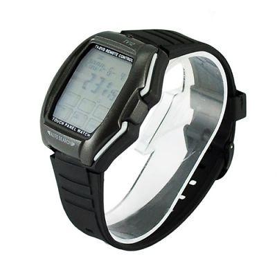 Reloj tactil Panel de control remoto de TV / DVD Función Reloj Negro + Gris