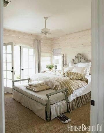 white-washed wood & neutrals