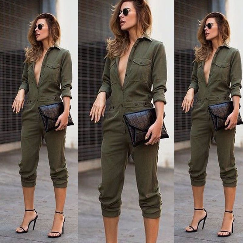 a46549248f8e1 Women Clubwear Summer Playsuit Bodycon Party Jumpsuit Romper Long Trousers