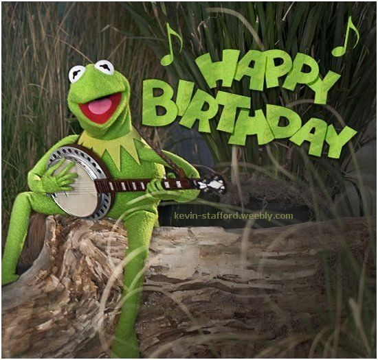 9781792860047e9acee9a917a5e7f767 happy birthday, kermit, muppet show, banjo muppets pinterest