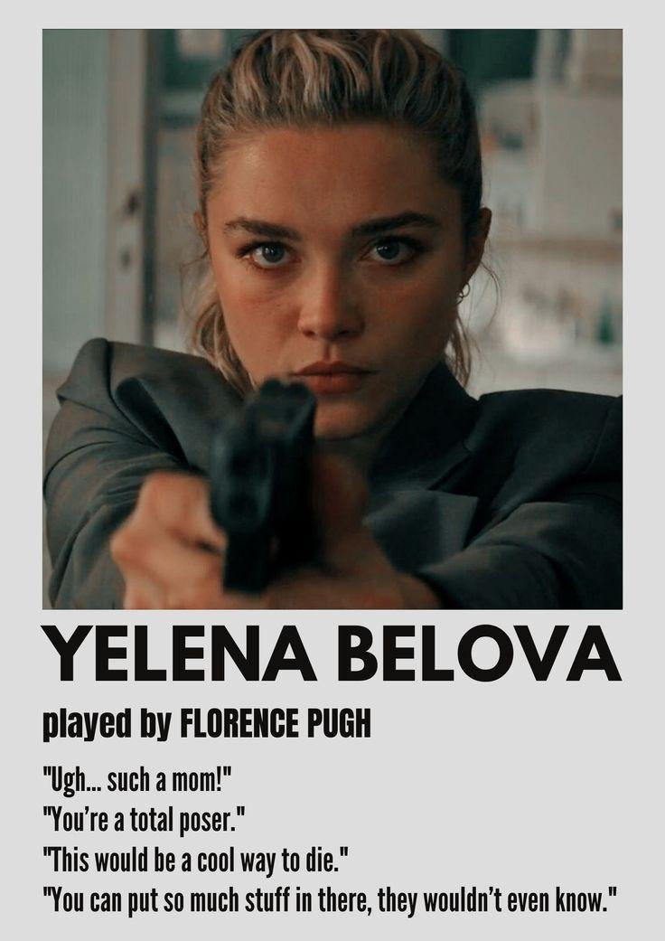 Yelena minimalist poster