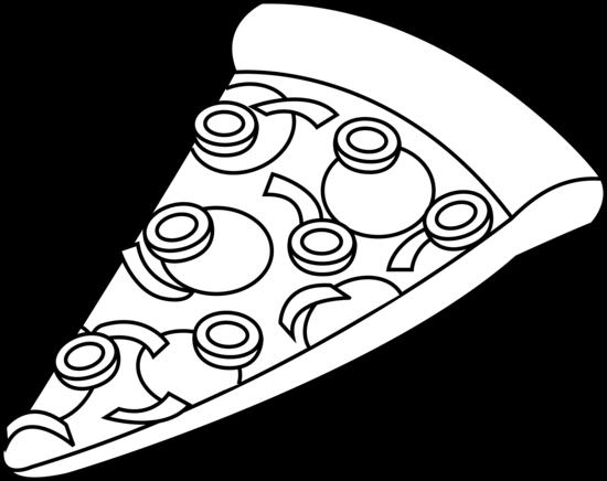 Pizza Slice Black And White Clipart Panda Coloring Pages Coloring Pages Frozen Coloring Pages