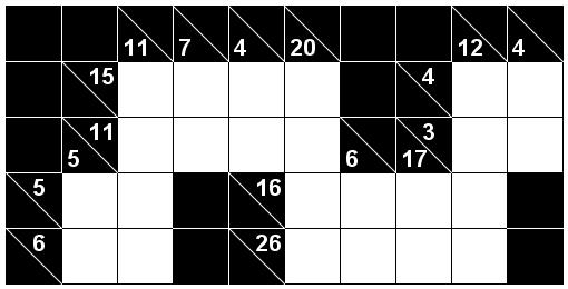 Number Logic Puzzles: 19583 - Kakuro size 2