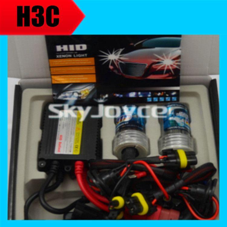 1 set 35W 12V H3C xenon hid lamp bulb kit 3000K 4300K 5000K