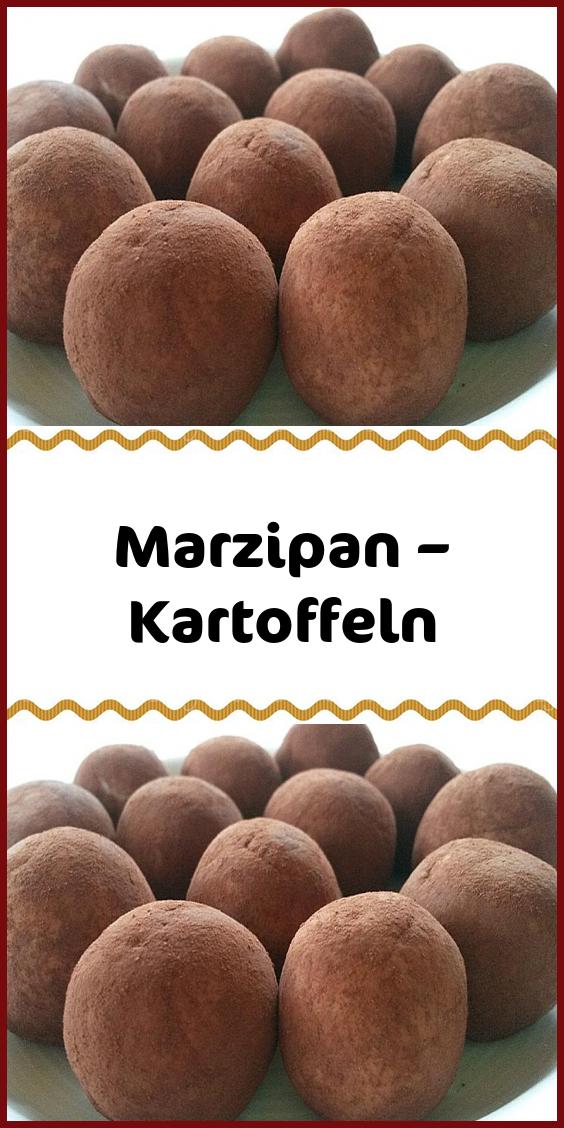 Marzipan – Kartoffeln