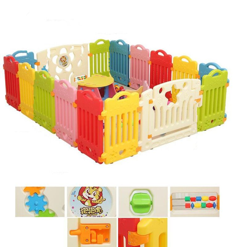 Child Safety Play Fence Baby Fences Infant Eco Friendly Pvc Playpen