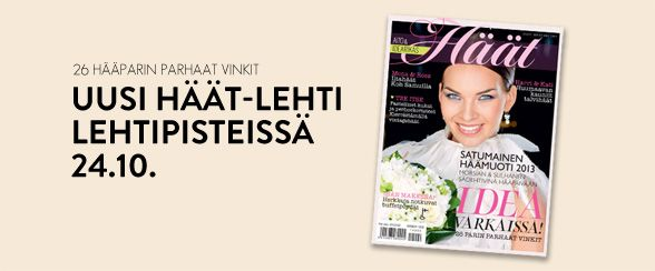 Häät-lehti Lehtipisteissa 24.10.2012