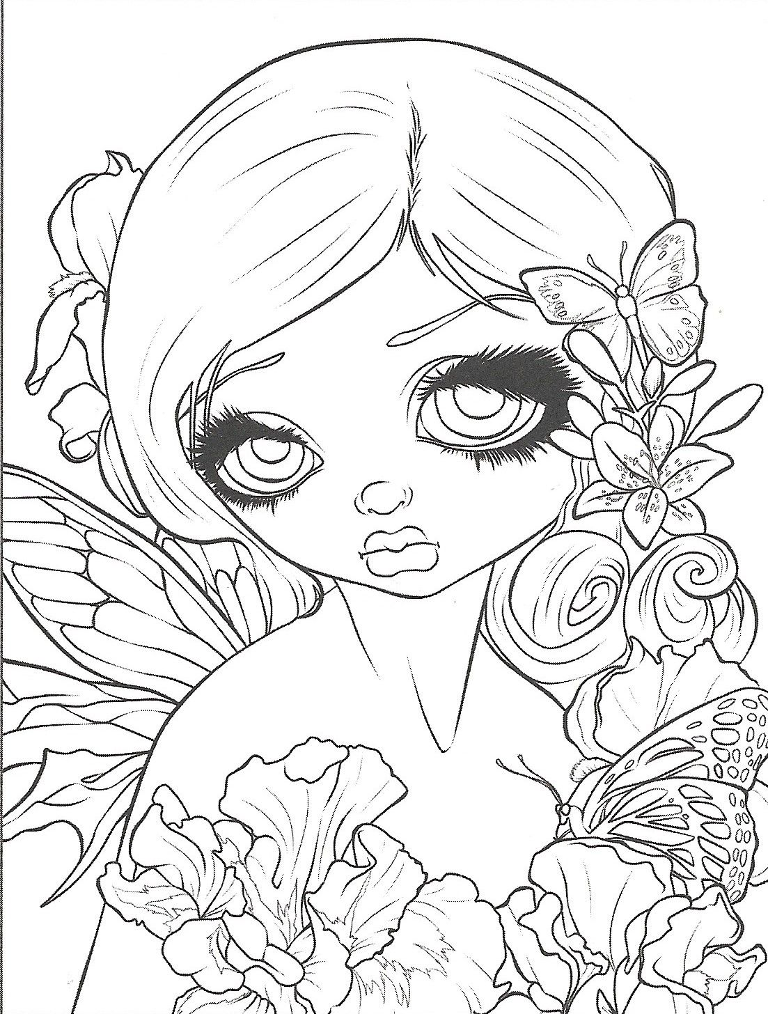 Pin By Theresa Ventura On Coloring Book Fairy Coloring Pages Fairy Coloring Animal Coloring Pages