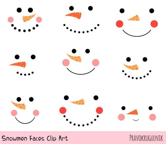 Cute Snowmen Faces Clipart Funny Snowman Mouth Eyes Nose Christmas Clipart Holiday Clipart Winter Clip Art Funny Snowman Head Clipart Funny Snowman Snowman Faces Snowmen Patterns