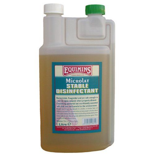 Equimins Horse Care Stable Disinfectant 1 Litre Bottle An extremely safe product produced from esential oils, it is even safe enough to use on an open wound, in the proper diluted form..  #Equimins #PetProducts