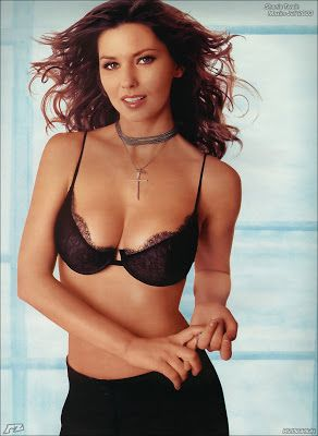 42cd25dead Shania Twain 36D-24-35- Maxim Magazine June 2003