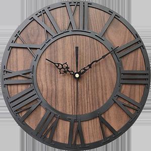 Veendam Funny Wall Light For Bedroom In 2020 Oversized Wall Clock Large Wall Clock Rustic Wall Clocks