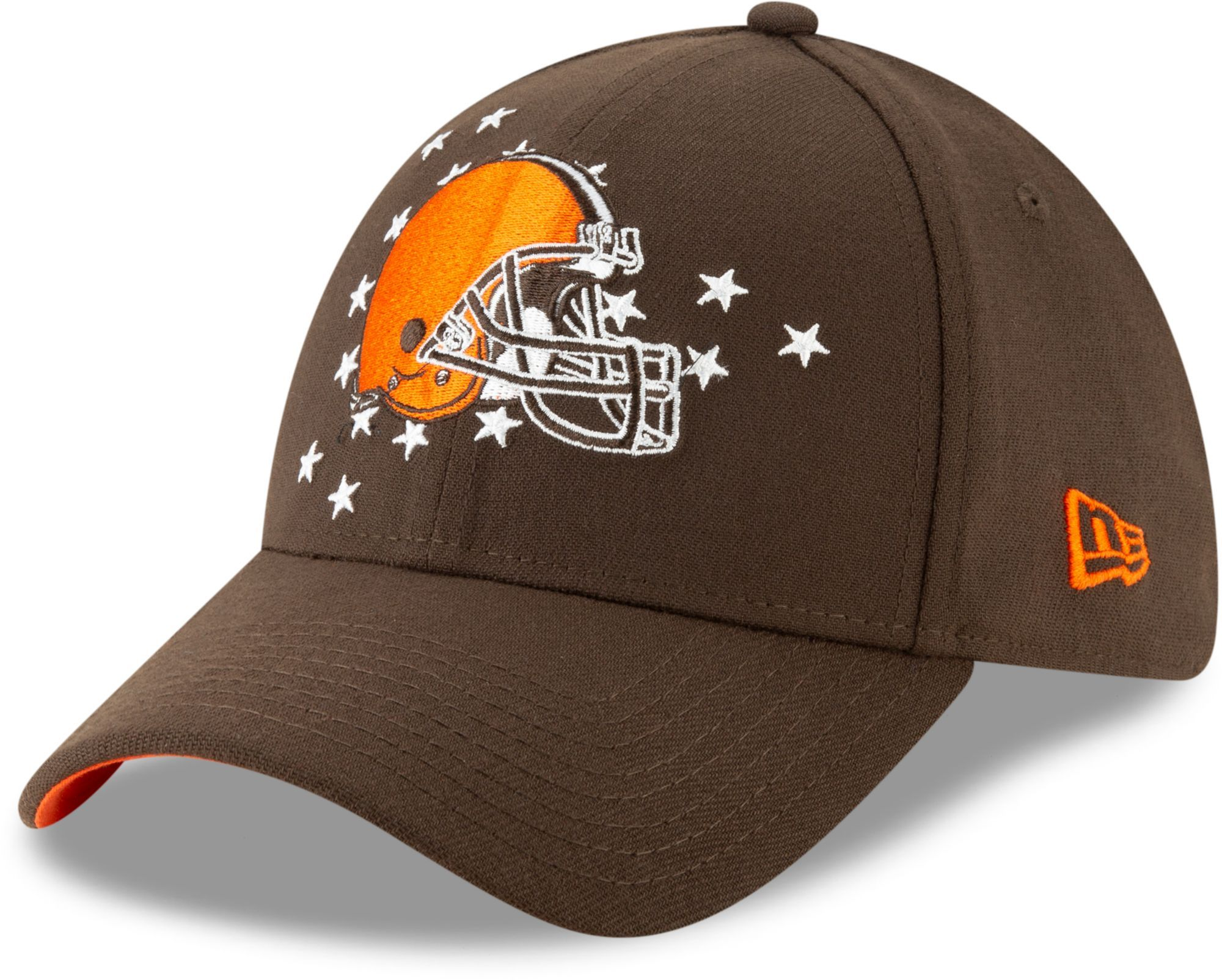 cfe190efa3e New Era Men s Cleveland 2019 Draft 39Thirty Stretch Fit Brown Hat in ...