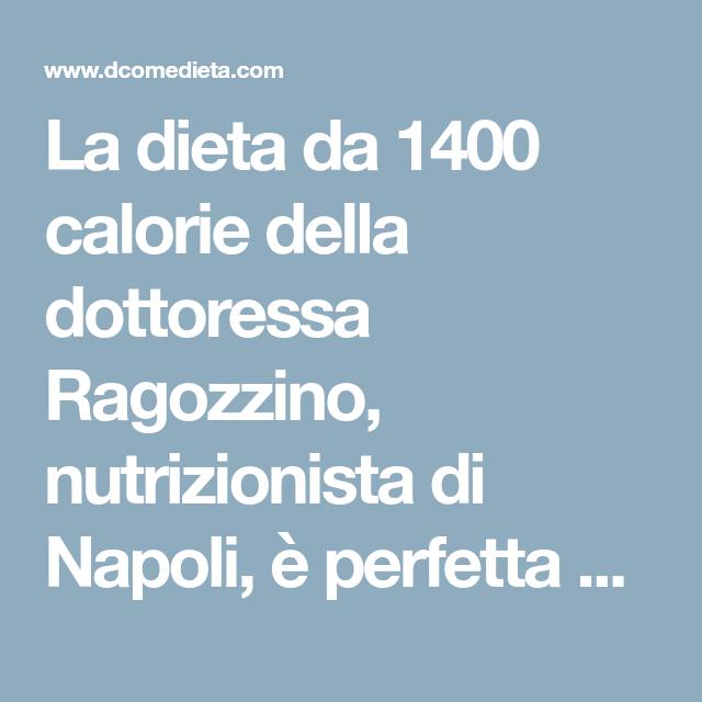 Dieta normoproteica menu settimanale