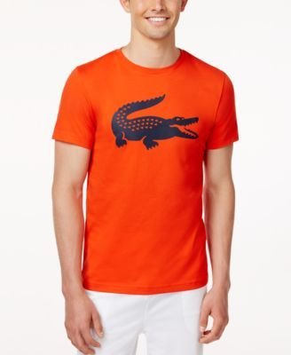 5067ae2aa4200 LACOSTE Lacoste Men S Logo Graphic Ultradry T-Shirt.  lacoste  cloth  shirts