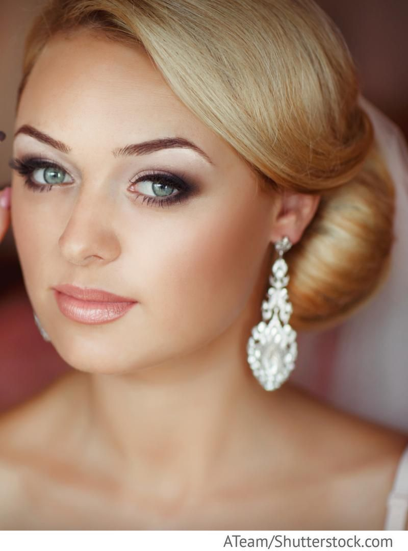 Make Up Hochzeit | Braut Make Up Mit Smokey Eyes Fur Russische Hochzeiten Beauty
