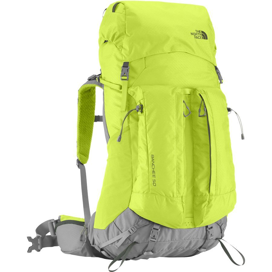 f1d12c38687 The North Face - Banchee 50 Backpack - 3051cu in - Macaw Green/Spruce Green