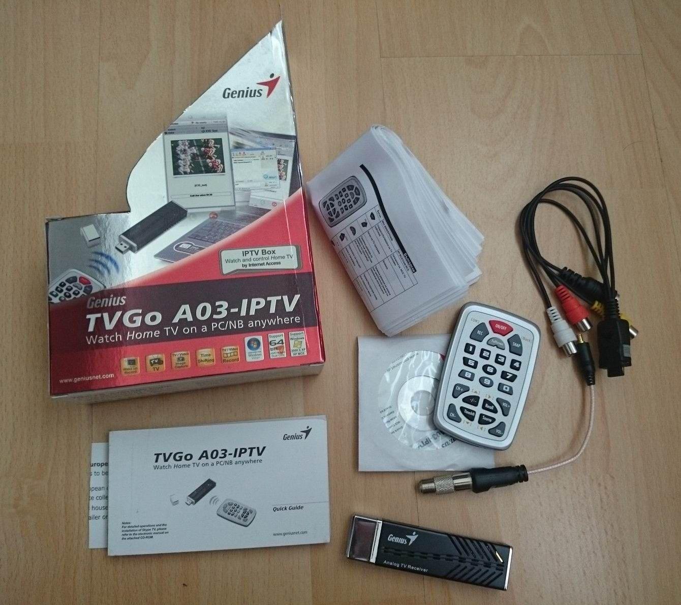 Drivers Update: Genius TVGo A03-IPTV TV Card