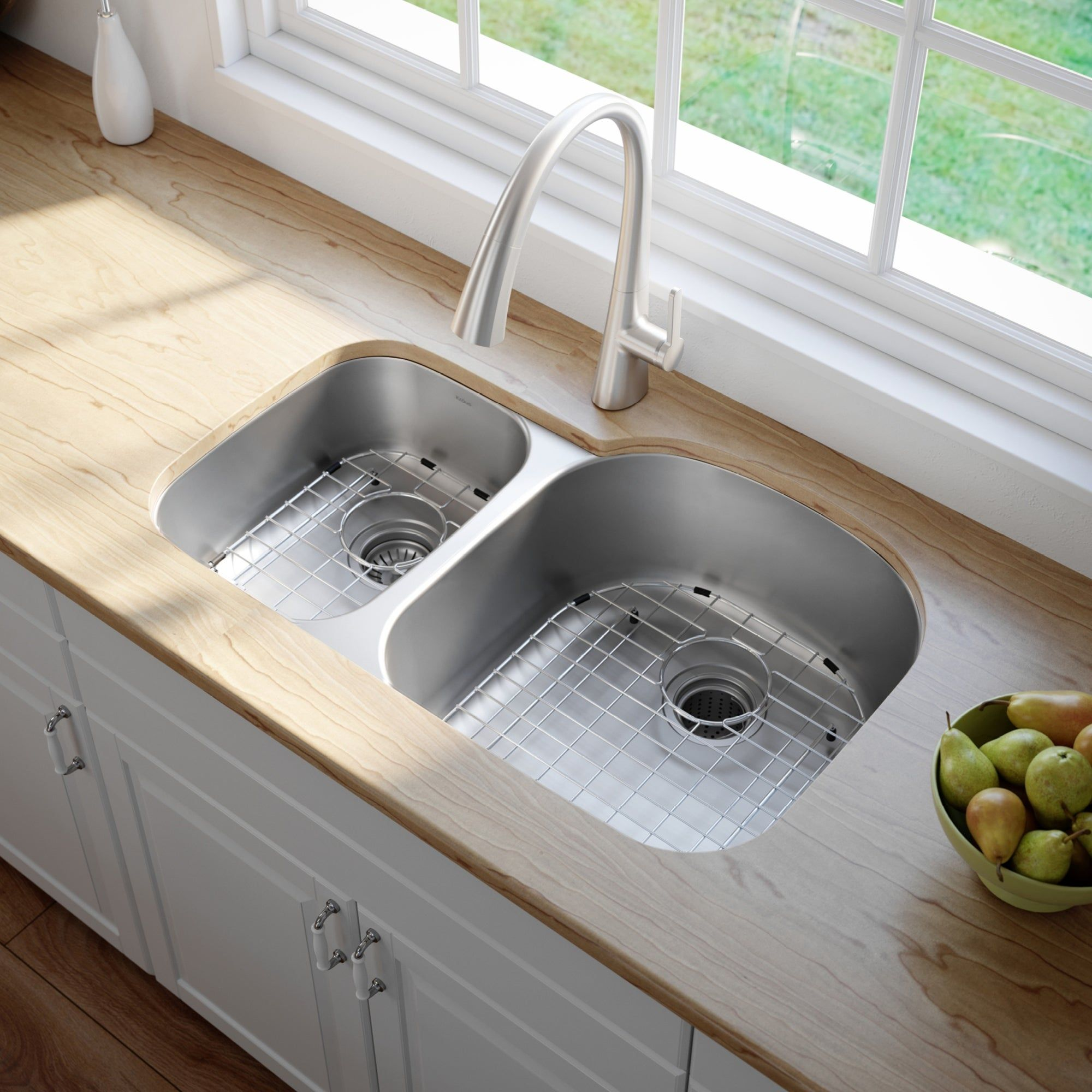 Overstock Com Online Shopping Bedding Furniture Electronics Jewelry Clothing More In 2021 Double Kitchen Sink Undermount Kitchen Sinks Single Sink Kitchen Double sink for 30 inch cabinet