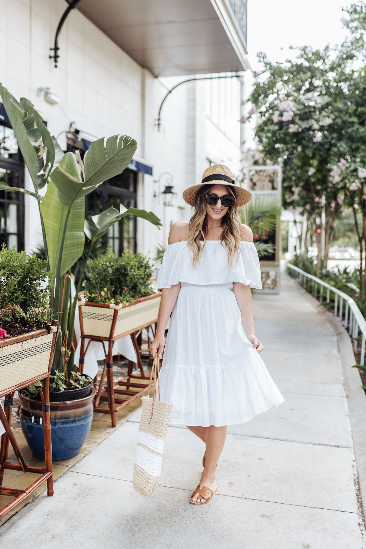 Walmart Fashion Summer Finds Dresses Little White Dresses White Off Shoulder [ 1920 x 1282 Pixel ]