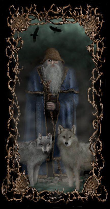 Nordische mythologie gandalf