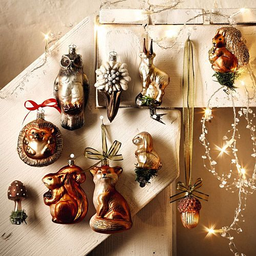 Love these Woodland Christmas ornaments!! - Love These Woodland Christmas Ornaments!! Christmas